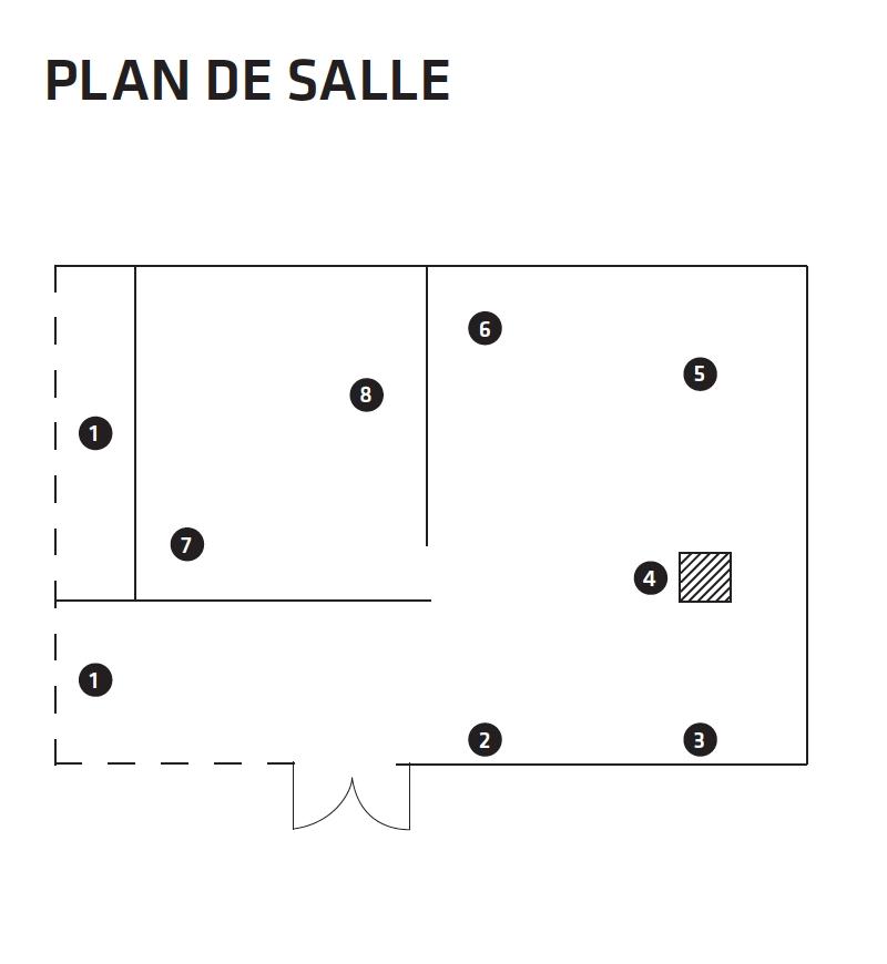 Plan de salle 1