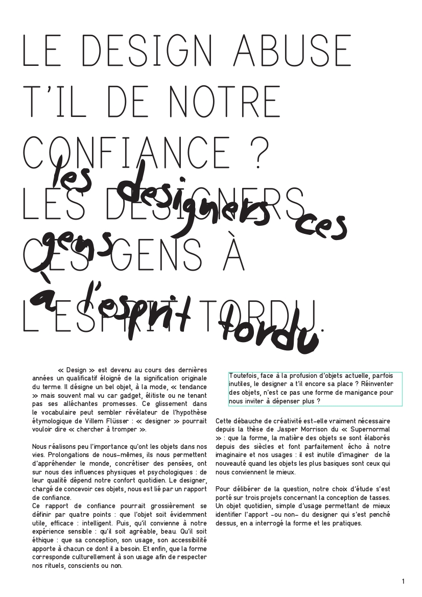 Design et manigance Delphine Hyvrier